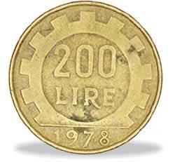 moneta da 200 lire