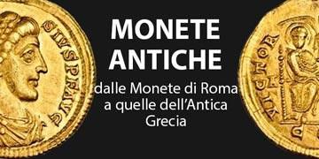 monete antiche romane e greche