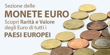 monete euro dei paesi europei