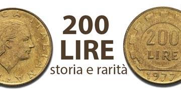 200 lire storia, rarità e valore