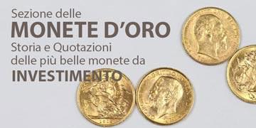 monete d'oro e da investimento