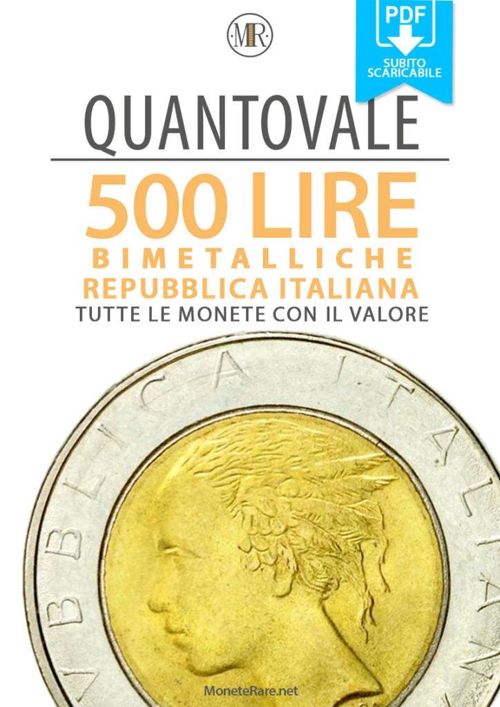 ebook quantovale catalogo 500 lire bimetalliche italiane