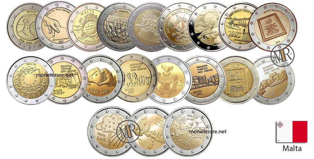 2 Euro Commemorativi Malta
