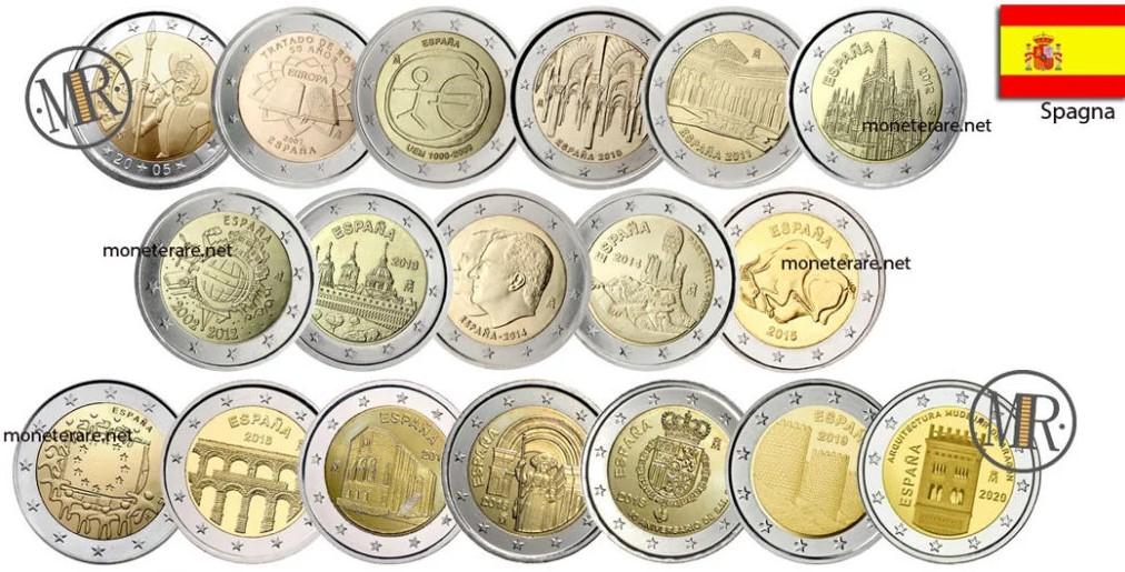 2-Euro-Spain-Commemorative-Coins