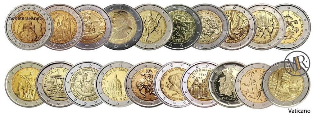 2 Euro Vatican Commemorative Coins